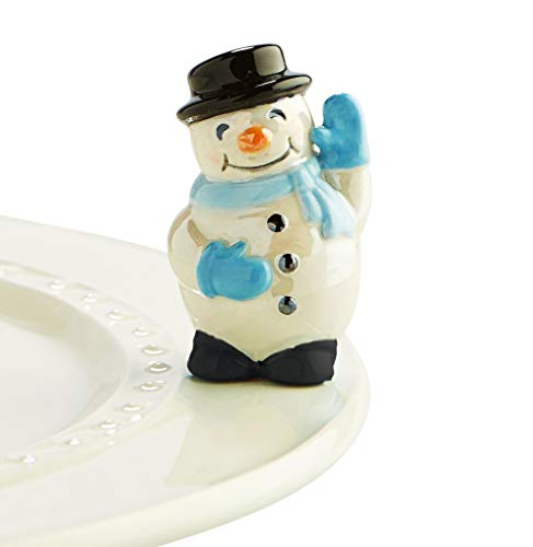Nora Fleming Hand-Painted Mini: Frosty Pal (Snowman) A172