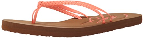 Roxy Damen Cabo Flip Flop Sandalen, Pink (Pfirsiche), 39 EU