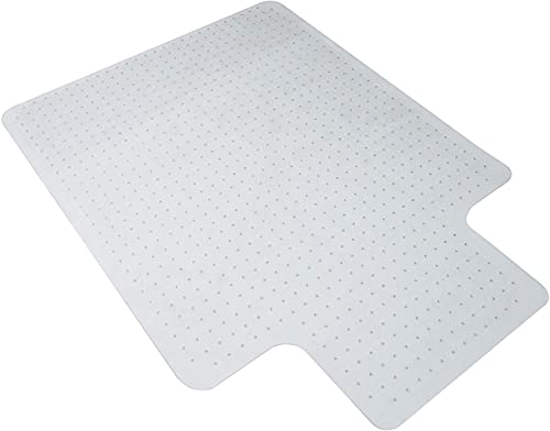 "ONENOE Heavy Duty Office Desk Chair Mat with Lip for Carpet Floors, 36"" x 48"", Clear"