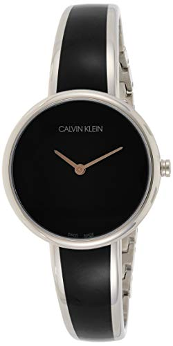 Calvin Klein Womens Watch with Stainless Steel Strap K4E2N111