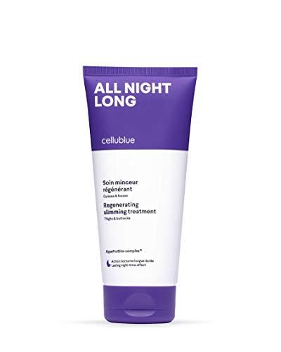 Cellublue - Schlankheits-Nachtpflege für Oberschenkel und Po | Schlankheitscreme, um im Schlaf Fett zu verbrennen - 200 ml