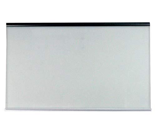 Glasplatte mit Halteleisten für Kühlschrank 495 x 317 mm Whirlpool 480132101134