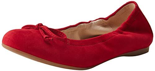 Gabor Shoes Damen Casual Geschlossene Ballerinas, Rot (Rubin 15), 38.5 EU