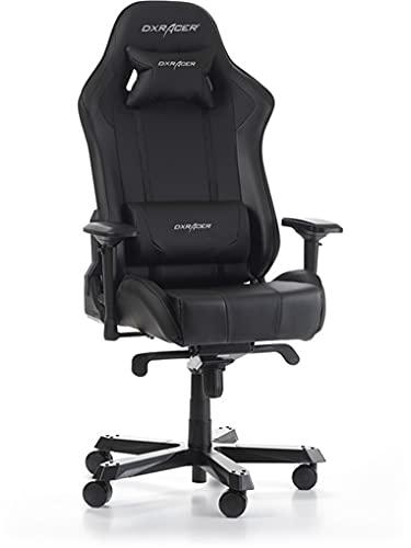 DXRacer 62585 NX4 KS06 N K Series - Silla de oficina con función de balancín, altura regulable, giratoria, para PC, silla de oficina