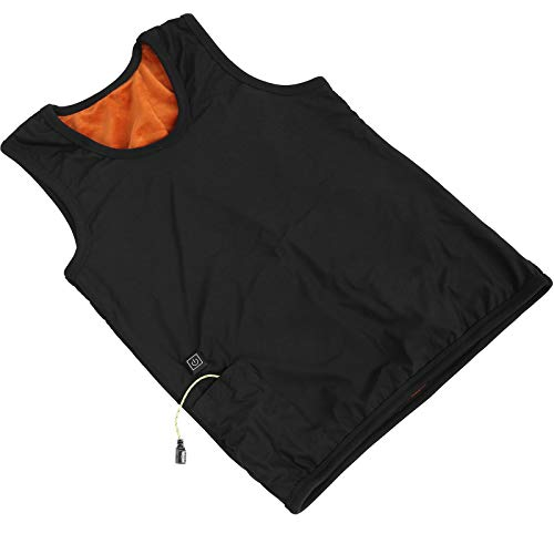 Chaleco calefactado chaleco calefactable chaleco calefactado eléctrico hombre mujer hombre mujer (XL)