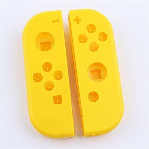 WLLOVE WULE Cubierta de Carcasa Personalizada de modificación de reemplazo con Destornillador Abra la Herramienta Ajuste for el Interruptor Nintend NS Joy con (Color : Yellow)