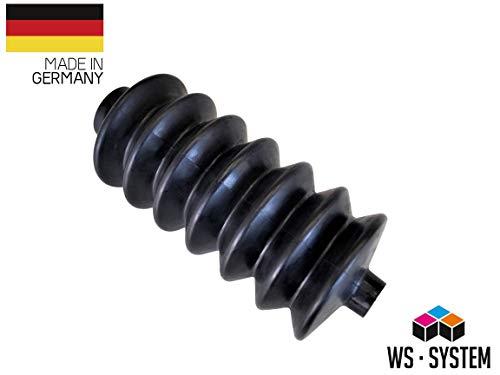 2 Stück Universal Faltenbalg Gummi Manschette Bellow L 90 mm - 240 mm Ø 25 mm - 45 mm | Faltenbalg | Manschette | Achsmanschette | Anhängerbalg | Lenkmanschette | Balg | Schutzbalg |