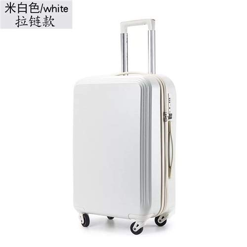 Mdsfe 20'22' 24'26' 28inch ABS + PCRolling Luggage Spinner Men Women Trolley Travel suitcaseCarry On Suitcases - Zipper, 24'
