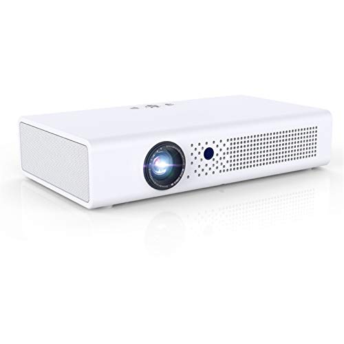LIDY Proyector WiFi, Mini Proyector Portátil 1080P Full HD, Cine En Casa 300' Duplicar Pantalla para Android/iPhone Smartphone iPad,HDMI/USB/VGA/AV/SD