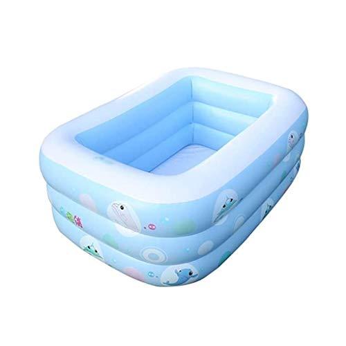 YWSZJ Niño Piscina Inflable, Familia del bebé Adulto del Niño Que se Bate Piscina Espesado Inicio Océano Ball Pool