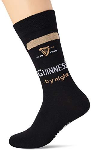 Guinness Herren BLK Guin by Night Socken, Schwarz (Schwarz Schwarz), Einheitsgröße