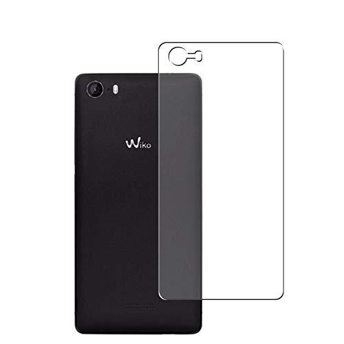 Vaxson 2 Stück Rückseite Schutzfolie, kompatibel mit Wiko Fever 4G 2015, Backcover Skin TPU Folie [nicht Panzerglas/nicht Front Bildschirmschutzfolie]