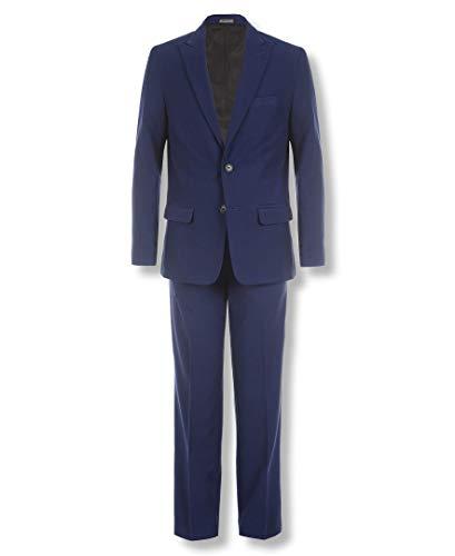 Calvin Klein Big Boys' 2-Piece Formal Suit Set, Infinity Blue, 16