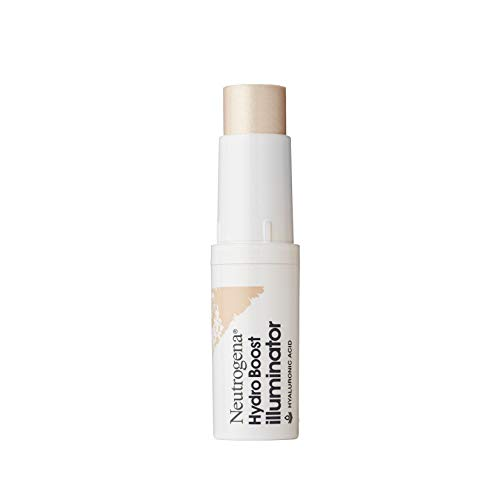 Neutrogena Hydro Boost Illuminator Makeup Stick with Hyaluronic Acid, Moisturizing Highlighter to Improve & Illuminate Skin, Dermatologist-Tested with Mistake-Proof Application, 0.29 oz