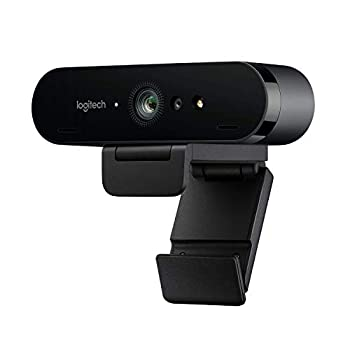 Logitech BRIO Ultra HD Webcam for Video Conferencing Recording and Streaming - Black