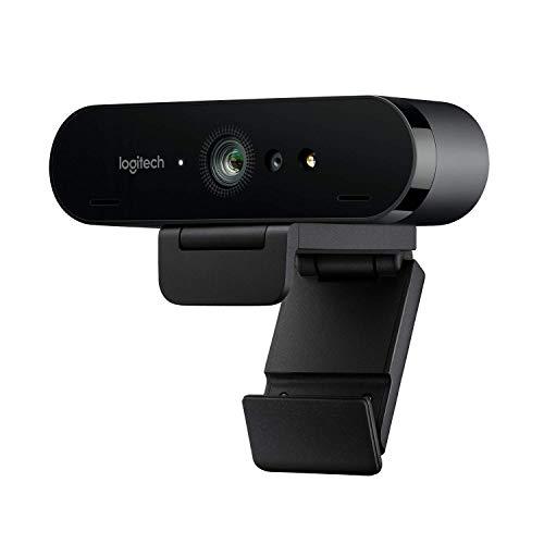 Webcam Logitech BRIO Ultra HD per videoconferenze, registrazione e streaming - colore Nero