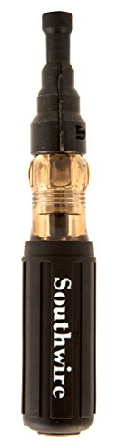 Southwire Tools & Equipment SDCFR Conduit Fitting Reaming Screwdriver, Heavy Duty, Dual Function, Multi Use Detachable Head, Compatible with Drill, Cushion Grip Handles for Comfort
