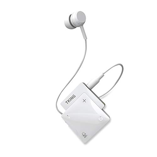 TKING Mini Rechargeable Personal Sound Amplifier for Senior - Voice Enhancer Device and Audio Amplifier for Sound Gain of 60dB, Pocket Hearing Devices and Hearing Assistance for TV and Talking