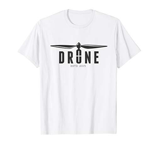 DRONE T-Shirt Racing FPV Drohne Fun Hobby Pilot Quadrocopter