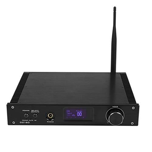 FOLOSAFENAR Buena disipación de Calor Amplificador de Audio HiFi Amplificador Digital para Tiempo de música(European regulations)