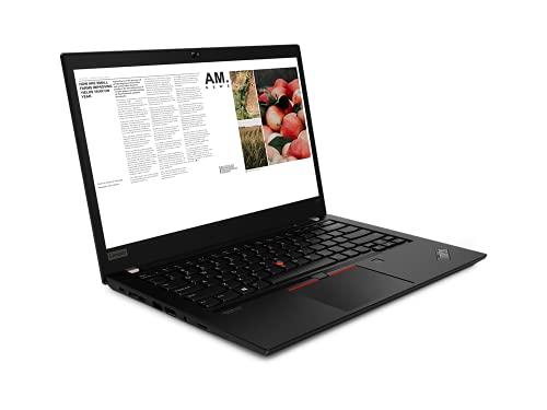 LEN ThinkPad T14 Notebook Gen 1, 14', i7-10510U, 4,90 GHz Max Frecuency, FHD 1920x1080, W10P, Negro, 3 años in situ + 3 años de garantía de batería (8 GB, 256 GB SSD)