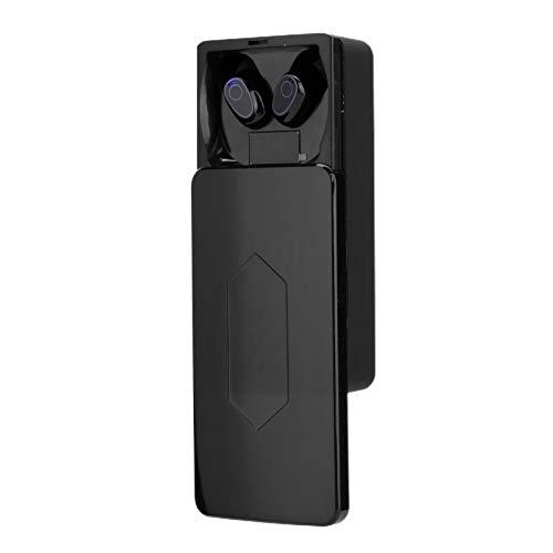 Tomanbery Compatibilidad de señal Liviana Aspecto Moderno en la Oreja Auriculares Bluetooth 5.0 Auriculares para Llamadas Música Orejas Dobles Individuales Uso