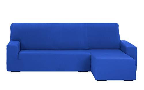 Martina Home Tunez Funda Sofá para Chaise Longue, Tela, Azul Eléctrico, Brazo derecho corto