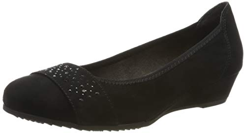 Jana Softline Damen 8-8-22260-23 Pumps, Schwarz (Black 001), 40 EU