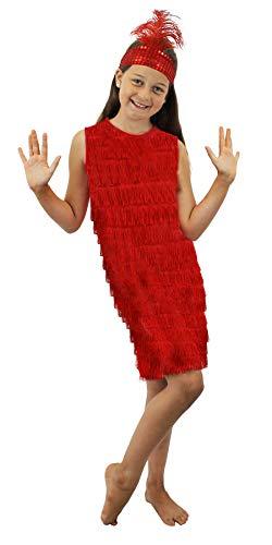 I Love Fancy Dress ILFD7035S Flapper, für Mädchen, Größe S