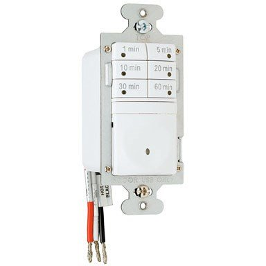 Pass & Seymour Timer Switch 60 Min 7 Button White