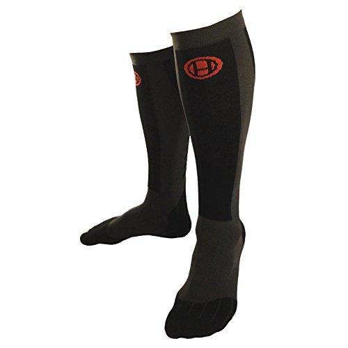 Premium Lifting, Running & OCR Compression Socks (L): Serious Support & Protection for Athletes, by Hoplite