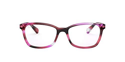 Ray-Ban 0rx53628069 Gafas, Striped Violet, 54 para Mujer