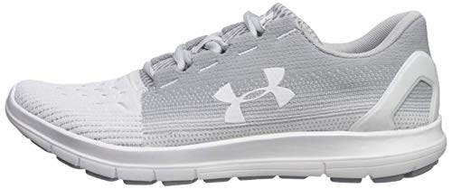 Under Armour Women's Remix 2.0 Sneaker, Halo Gray (101)/White, 6