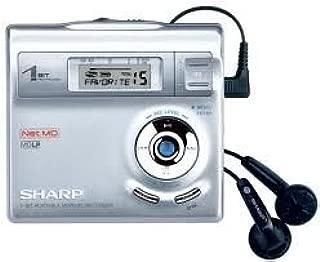 Sharp MD-MT 190 Argent Silver Portable Mini Disc Player Interno Plata Unidad de Disco /óptico