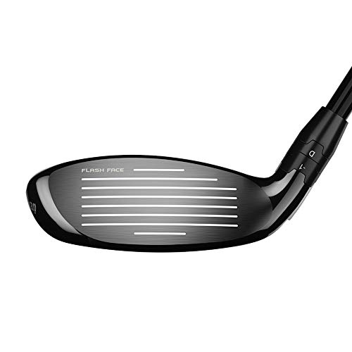 Callaway Epic Flash Hybrid (Right Hand, 3 Hybrid, 18 Degrees, Stiff Flex, Adjustable Hosel)