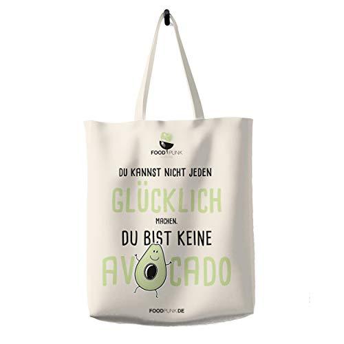 Foodpunk Baumwolltasche Avocado | Einkaufstasche | Jutebeutel