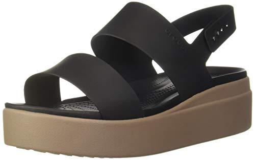 crocs Womens 206453-07H_39/40 Outdoor Sandals, Black, EU