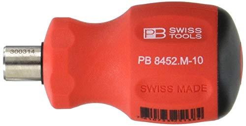 PB Swiss 8452.M-10 Destornillador, Negro, Normal