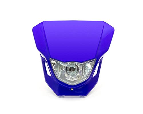 Motorfiets Koplamp - Supermoto & Streetfighter - Blauw - 12V 35W