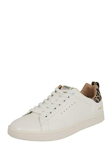 ONLY Damen Sneaker Low Shilo braun 39
