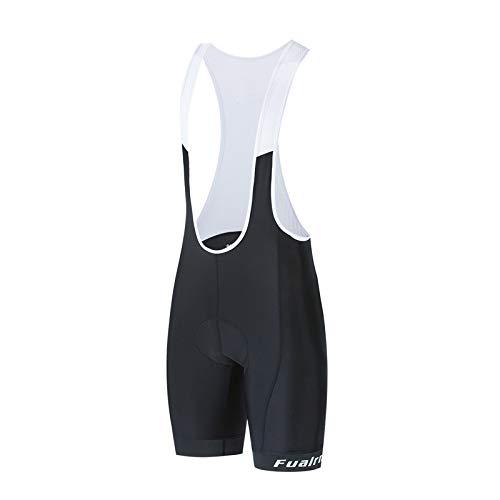 Pantalones Cortos De Ciclismo para Hombre, Ropa Interior De Ciclismo Pantalones Cortos De Bicicleta De Carretera Acolchados En 3D Pantalones Cortos De Bicicleta (White,S)