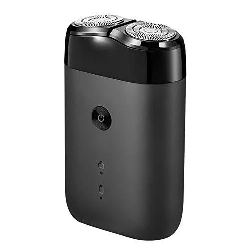 Original Xiaomi mijia Máquina de afeitar eléctrica para hombres giratoria 2 cabezas flotantes portátil impermeable USB recargable