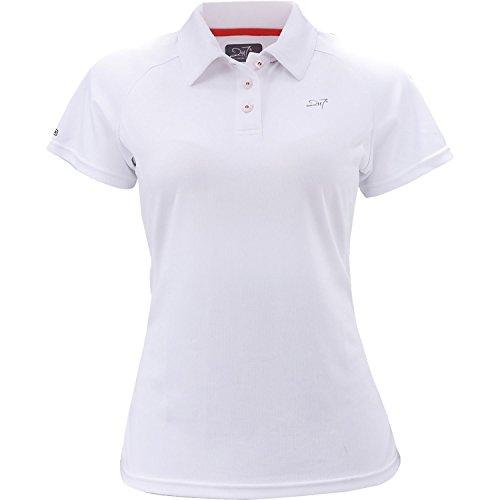 2117 of Sweden Damen Funktions Poloshirt Frösåker, White, 36