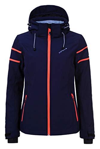 Icepeak Nelly dames ski- softshelljas winterjas marineblauw *UVP 129,99 46