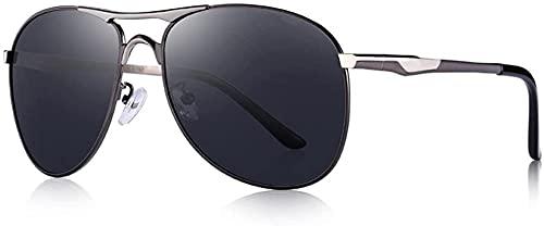 Gafas de sol de los hombres s clásico polarizado gafas de sol de aluminio de conducción de lujo sombra UV400