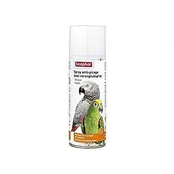 BEAPHAR – Spray anti-picage, pour toutes les espèces d'oiseaux – Prévient l'arrachage des plumes – Idéal en cas d'automutilation – Convient contre le picage par d'autres oiseaux – 200ml