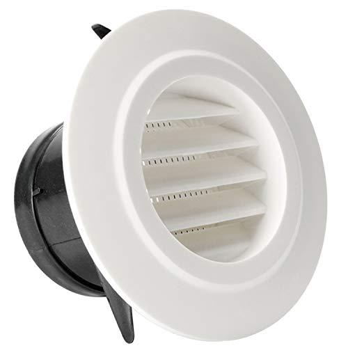 Omidy - Rejilla de ventilación de 4 pulgadas con rejilla de ventilación para baño, cocina, oficina, ventilación