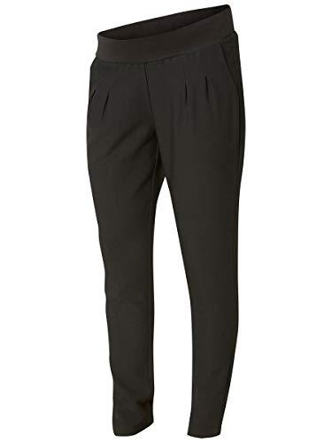 Mamalicious NOS Damen MLNEW Business Pant NOOS Umstandshose, Schwarz (Black Black), 34 (Herstellergröße: XS)