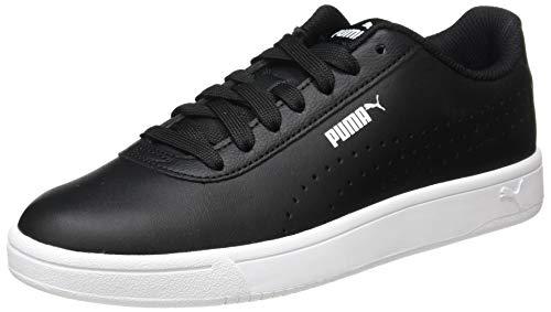 PUMA Court Pure, Sneaker Unisex-Adulto, Nero Black Black White, 39 EU