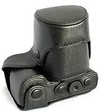 MegaGear Nex-6 Case Black Ever Ready Leather Camera Case Compatible with Sony Alpha NEX-6 - Black